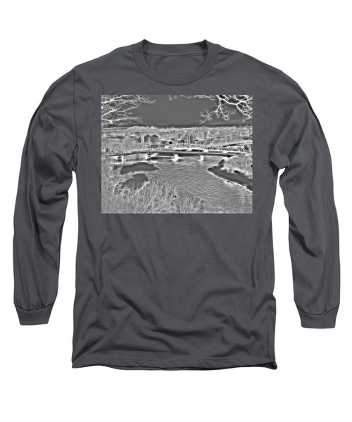 Zanesville Ohio Ybridge Long Sleeve T-Shirt