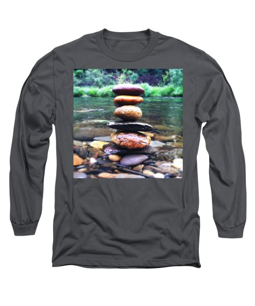 Zen Stones II Long Sleeve T-Shirt