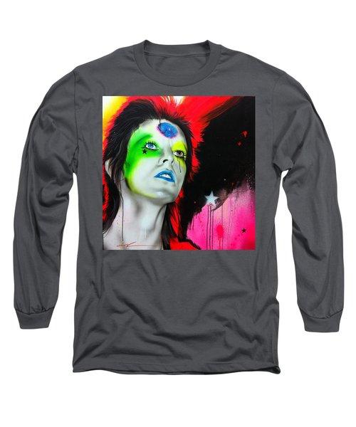 Ziggy Played Guitar Long Sleeve T-Shirt