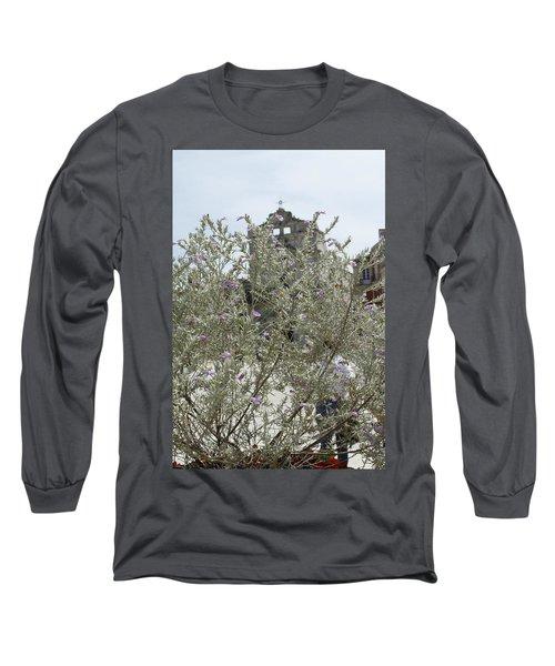 Santa Lucia Alla Badia Church Long Sleeve T-Shirt