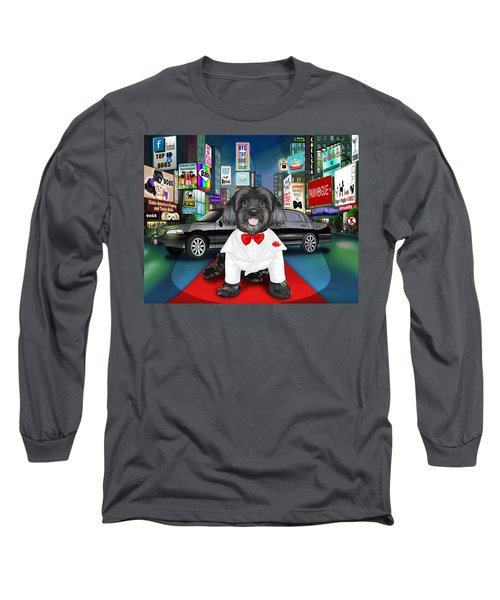 Sir Cuba Of Chelsea In Times Square Nyc Long Sleeve T-Shirt