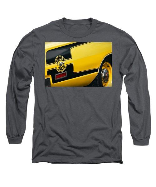 Long Sleeve T-Shirt featuring the photograph 1970 Dodge Coronet Super Bee by Gordon Dean II