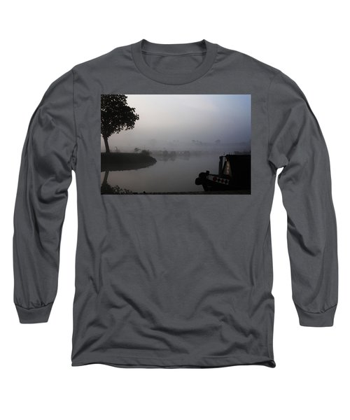 Long Sleeve T-Shirt featuring the photograph A Nice Place by Linsey Williams