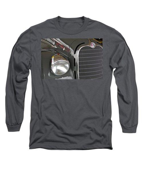 Long Sleeve T-Shirt featuring the photograph Alfa Romeo by Anna Ruzsan