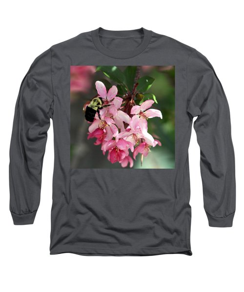 Long Sleeve T-Shirt featuring the photograph Buzzing Beauty by Elizabeth Winter