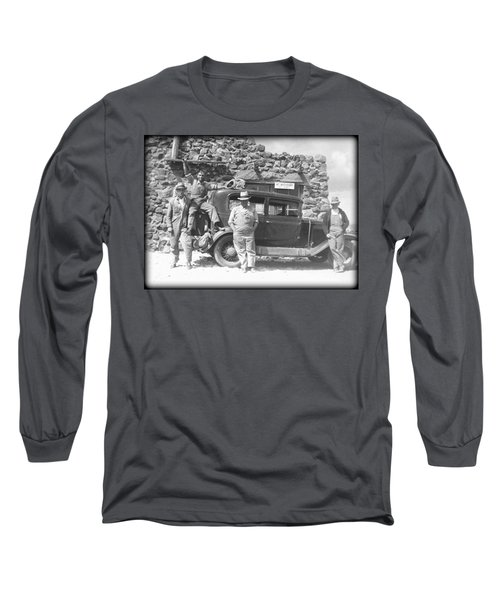 Long Sleeve T-Shirt featuring the photograph Depression Travlers by Bonfire Photography