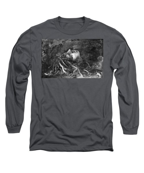 Mythology: Medusa Long Sleeve T-Shirt by Granger