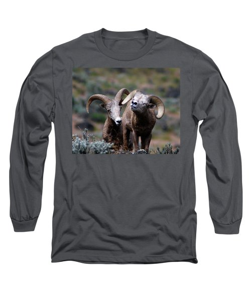 Smile Long Sleeve T-Shirt by Steve McKinzie