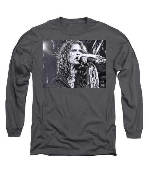 Long Sleeve T-Shirt featuring the photograph Steven Sings by Traci Cottingham