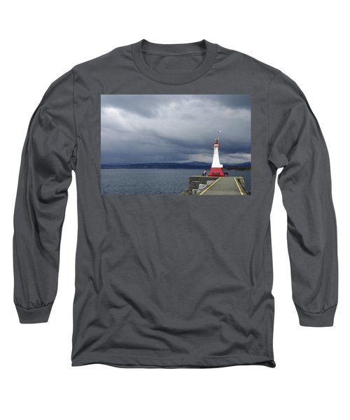 Long Sleeve T-Shirt featuring the photograph Stormwatch by Marilyn Wilson
