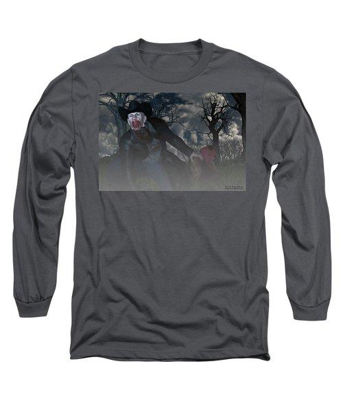 Vampire Cowboy Long Sleeve T-Shirt