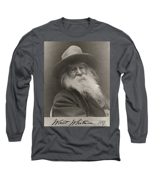 Walt Whitman Long Sleeve T-Shirt