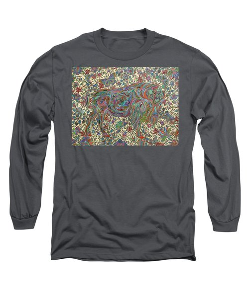 Where The Butterflies Roam  Long Sleeve T-Shirt