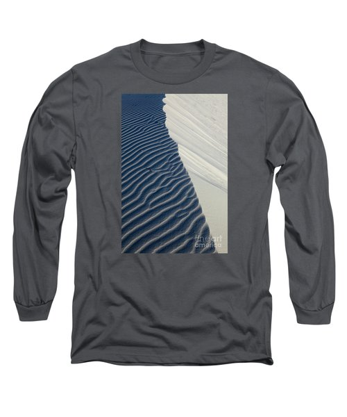 Long Sleeve T-Shirt featuring the photograph White Sands by Keith Kapple