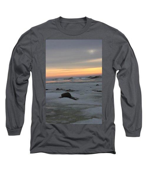 Winter Evening Lights Long Sleeve T-Shirt