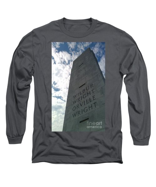 Wright Brothers Memorial Long Sleeve T-Shirt