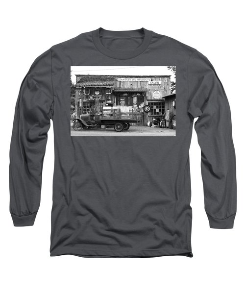1930's Gas Station Long Sleeve T-Shirt