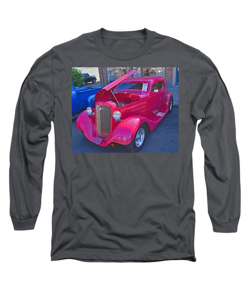 Long Sleeve T-Shirt featuring the photograph 1934 Chevy Coupe by Tikvah's Hope