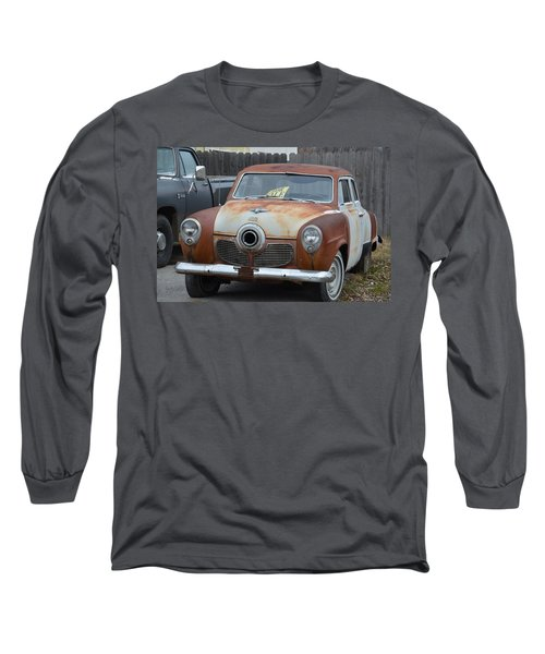 1951 Studebaker Long Sleeve T-Shirt by Randy J Heath