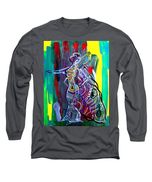 Dinka Lady - South Sudan Long Sleeve T-Shirt