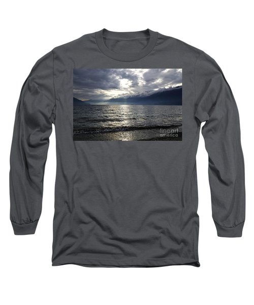 Sunlight Over A Lake Long Sleeve T-Shirt