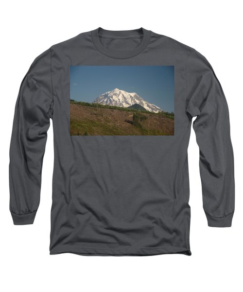 Mt Rainier Long Sleeve T-Shirt