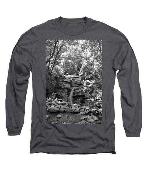 Long Sleeve T-Shirt featuring the photograph Set Rock Creek Falls by Joel Deutsch