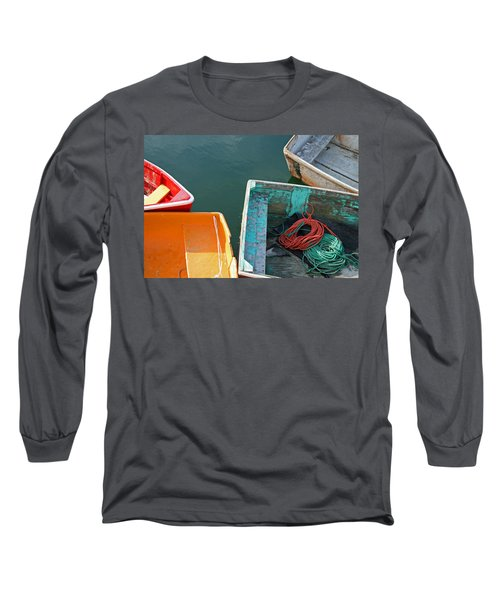 4 Row Boats Long Sleeve T-Shirt