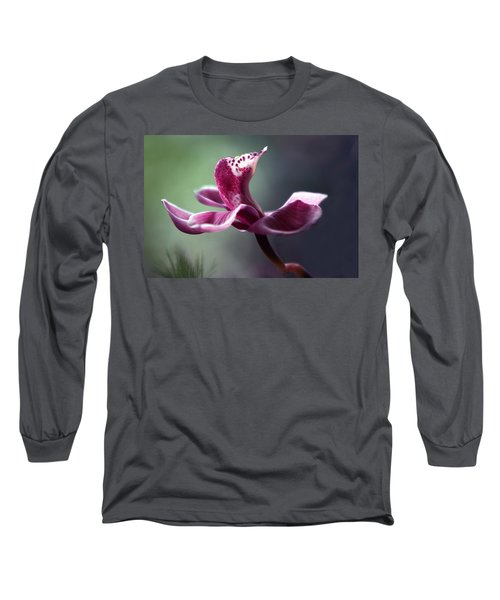 Long Sleeve T-Shirt featuring the photograph A Cup Of Ambrosia by Marion Cullen