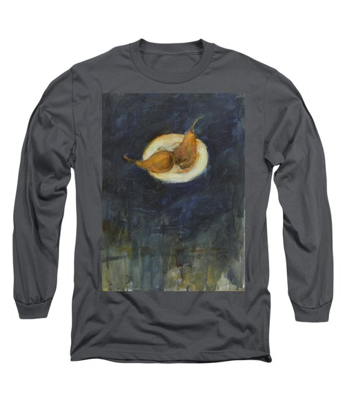 Long Sleeve T-Shirt featuring the painting A Pair by Kathleen Grace