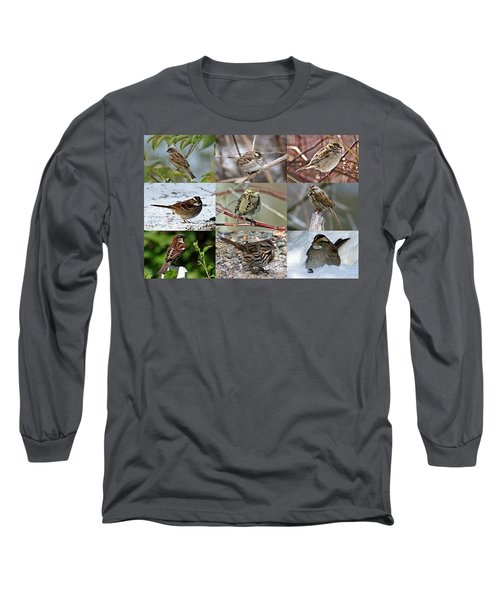 A Study In Sparrows Long Sleeve T-Shirt