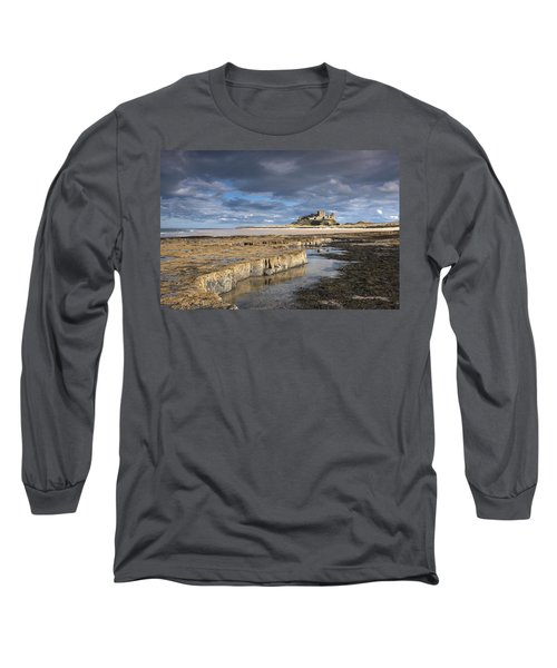 A View Of Bamburgh Castle Bamburgh Long Sleeve T-Shirt