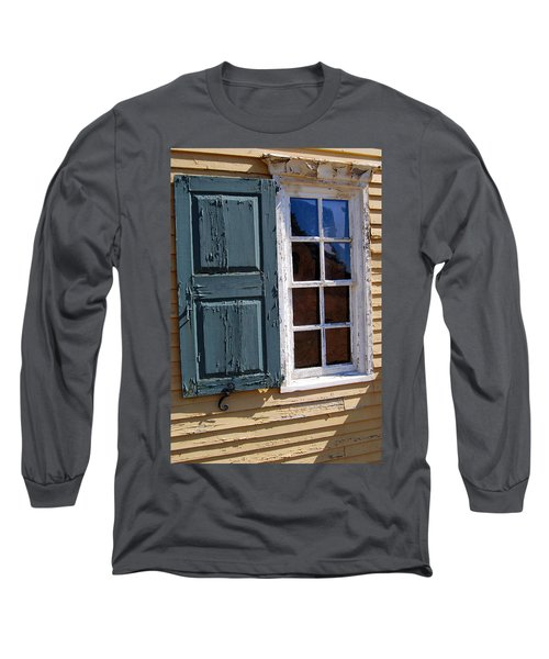 A Window Into The Past Wipp Long Sleeve T-Shirt by Jim Brage