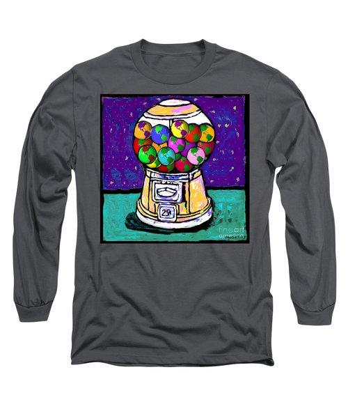 A World Of Gumballs Long Sleeve T-Shirt
