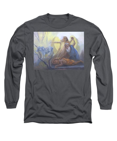 Abraham And Issac Test Of Abraham Long Sleeve T-Shirt