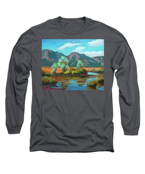 After The Rain Long Sleeve T-Shirt by Diane McClary
