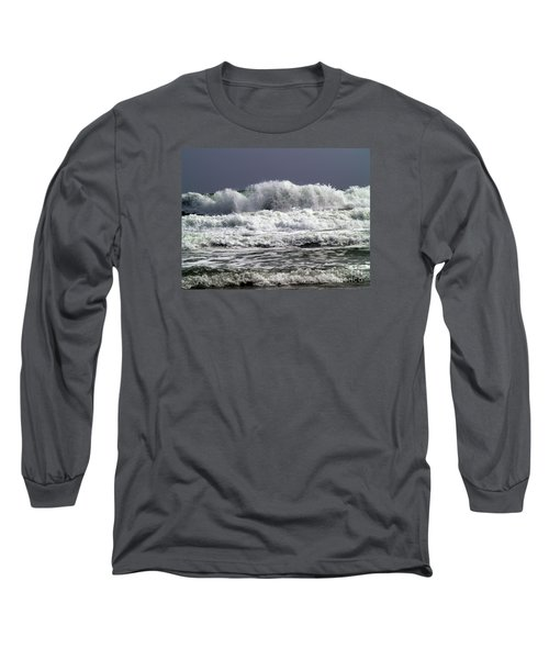 Aftermath Of A Storm Iv Long Sleeve T-Shirt by Patricia Griffin Brett