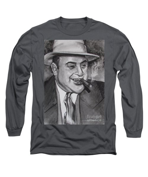 Al Capone 0g Scarface Long Sleeve T-Shirt