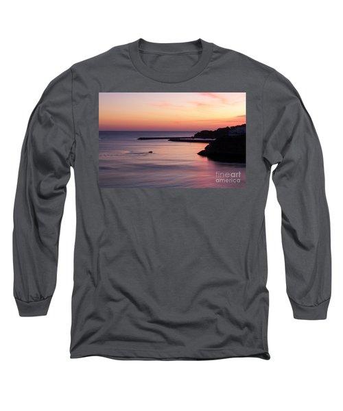 Long Sleeve T-Shirt featuring the photograph Albuferian Sunset by Lynn Bolt