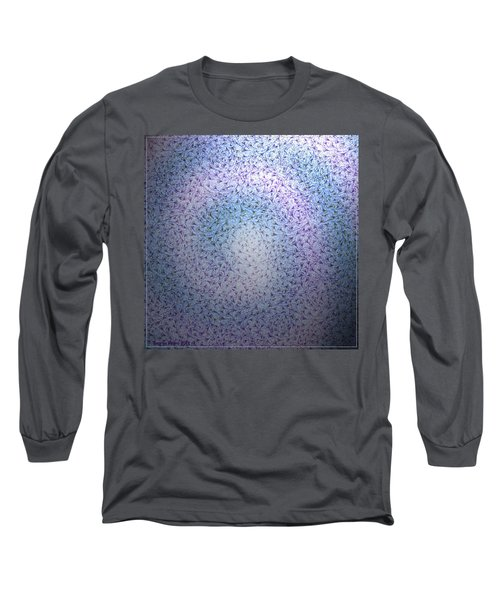 Long Sleeve T-Shirt featuring the digital art Alien Skin by George Pedro