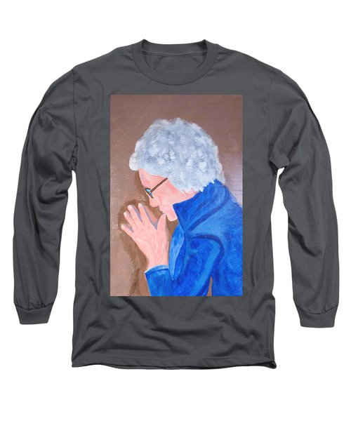All In The Mind Long Sleeve T-Shirt by Lisa Brandel
