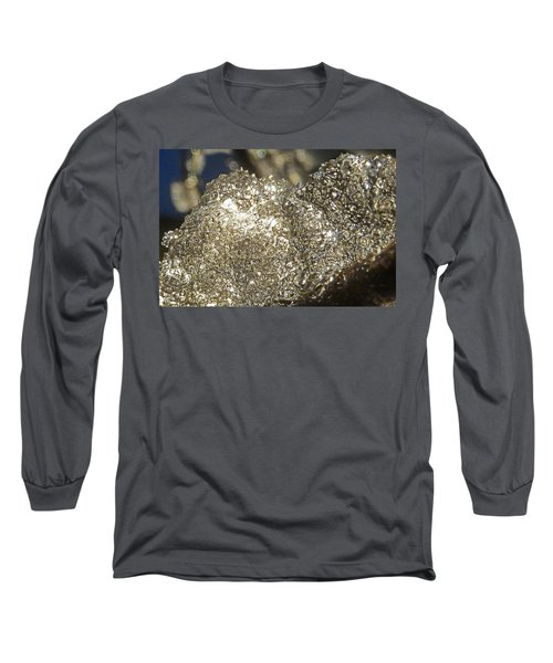 Long Sleeve T-Shirt featuring the photograph All That Glitters Is Definitely Cold by Steve Taylor