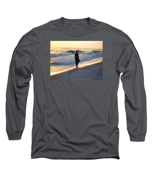Alone At The Edge Long Sleeve T-Shirt