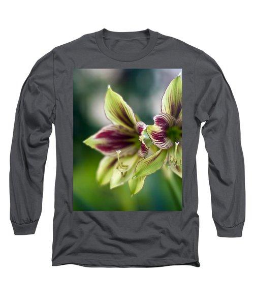 Amaryllis Peace Long Sleeve T-Shirt