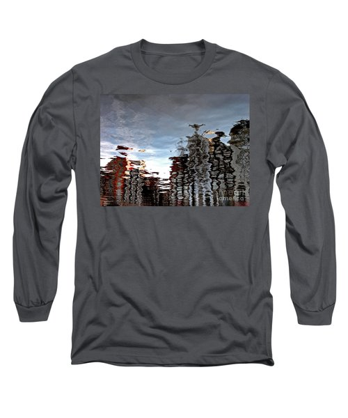 Long Sleeve T-Shirt featuring the photograph Amsterdam Reflections by Andy Prendy