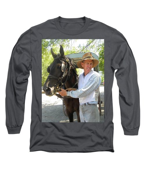 An Old Fashion Delivery Long Sleeve T-Shirt
