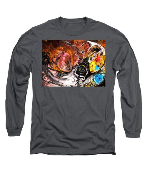 Anewed Antypityped Five Fish Long Sleeve T-Shirt