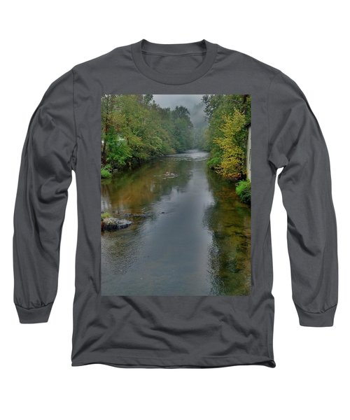 Long Sleeve T-Shirt featuring the photograph Appalachian Trail by Janice Spivey