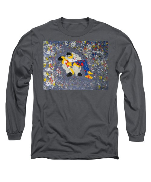 Arab Despair Two - La Pieta Long Sleeve T-Shirt