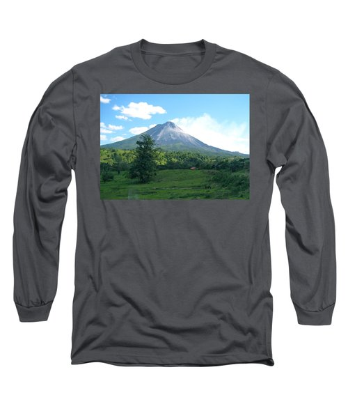 Long Sleeve T-Shirt featuring the photograph Arenal by Eric Tressler